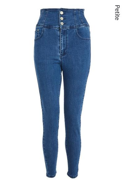 Petite Blue Denim Skinny Jeans
